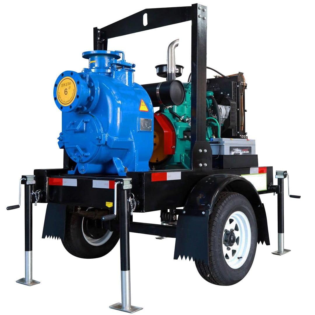 diesel trash pump set